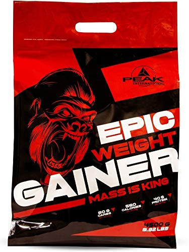 PEAK Epic Weight Gainer Strawberry 4500g