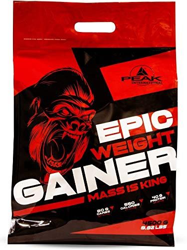 PEAK Epic Weight Gainer Strawberry 4500g