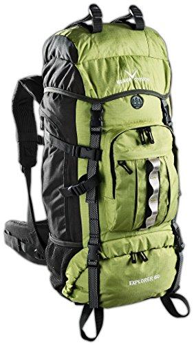Black Crevice Erwachsene Rucksack Explorer, grün, 60
