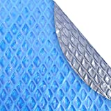 Crystal Blue 24S-8SBD Box-CB Solar Pool Cover, 24...