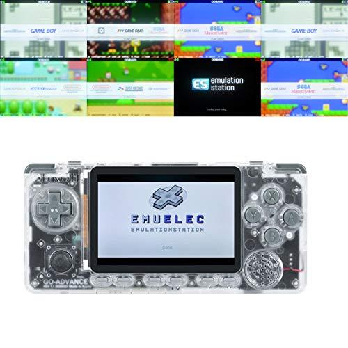 TAPDRA Odroid Go Advance OGA 128GB Kit de Tarjeta SD Estación de emulación Completamente cargada Consola portátil 27,000+ Juegos Plug & Play