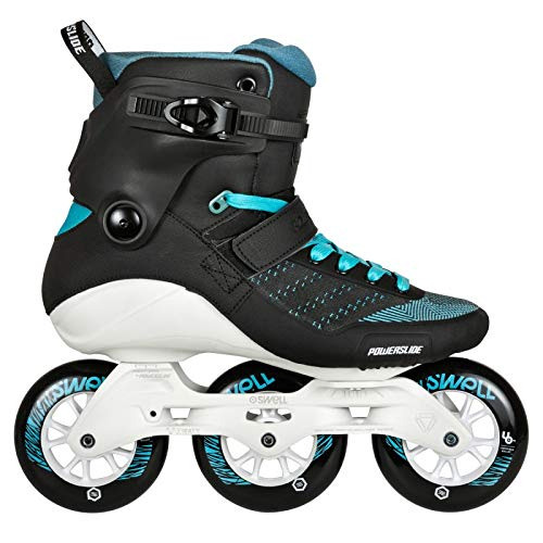 Affordable Powerslide Swell Aquamarine100 Inline Fitness Speed Skates (US 05 / EU 38)