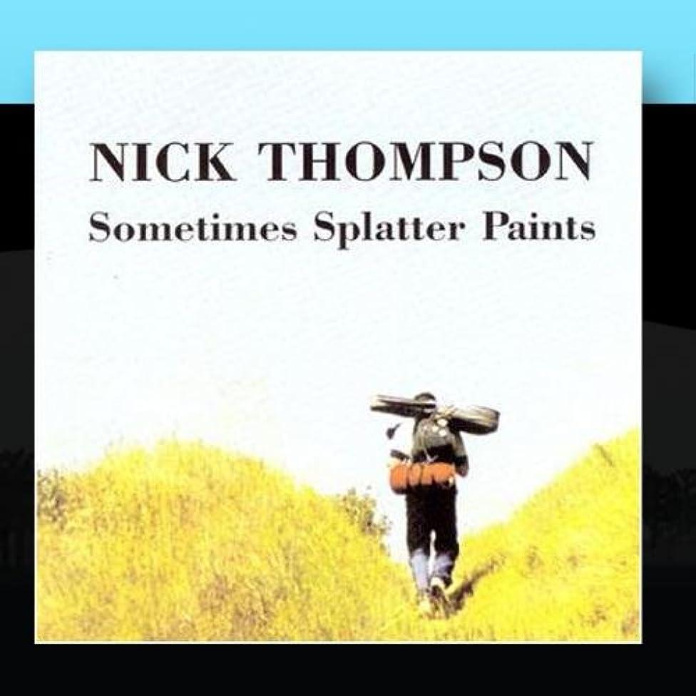 Sometimes Splatter Paints