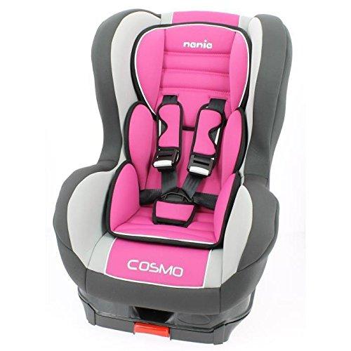 Nania Isofix - Seggiolino auto per bambini da 9 mesi a 18 kg, colore: Rosa