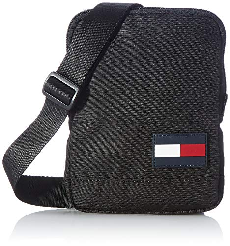 Tommy Hilfiger Men's Tommy CORE Compact Crossover Bags, Black, One Size
