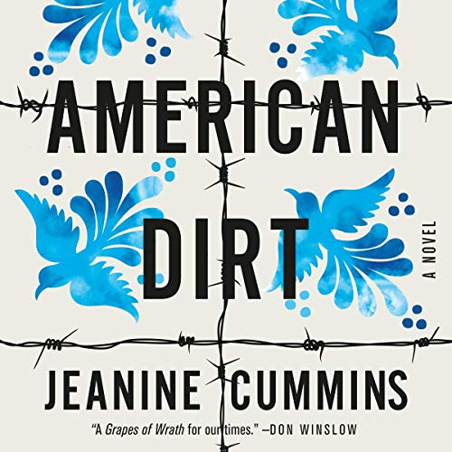 American Dirt audiobook cover art