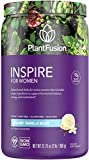 PlantFusion Inspire Women Protein Powder | Plant Based Vegan Protein Supplement | Balances Stress & Female Hormones | Supports Metabolism, Strong Hair & Nails | No Bloat | Creamy Vanilla Bean 2 Lb