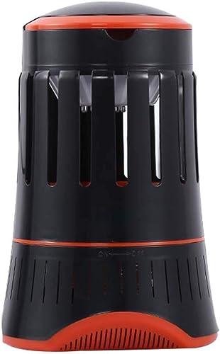 SH-mw Lampe de Moustique LED Inhalation Mosquito Killer Moustique Ménage pour Bébé Femmes Enceintes (Couleur   Noir)