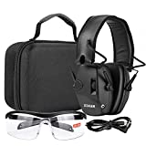 Best Electronic Earmuffs - EM054 Electronic Shooting eye and ear protection Set Review