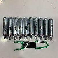 Envio 24 horas Militar-TLD Lote de bombonas de CO2 para airsoft 12 g, 20 unidades