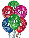 ocballoons Palloncini Compleanno 50 Anni addobbi e Decorazioni per Feste Party