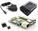 Dieses Raspberry Pi 3 Modell B+ Starterkit, enthält alle erforderlichen Komponenten welche einen einfachen Start mit dem Raspberry Pi ermöglichen. Sie benötigen nur noch eine MicroSD Speicherkarte mit einer Kapazität Ihrer Wahl. Lieferumfang: Neuste ...