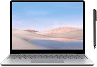 "Microsoft Surface Laptop Go 12.4"" Touchscreen Laptop PC, Intel Quad-Core i5-1035G1, 4GB RAM, 64GB eMMC, Webcam, Win 10, Bl..."