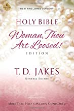 NKJV, Woman Thou Art Loosed, Paperback, Red Letter Edition: Holy Bible, New King James Version
