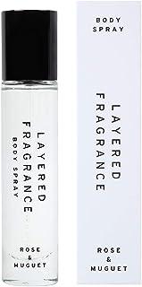 LAYERED FRAGRANCE(レイヤードフレグランス) ボディスプレー ローズ&ミュゲ 30ml