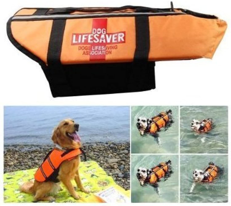 Namsan Pet Saver Life Jacket Night Reflective Dog Preserver Jacket  Small
