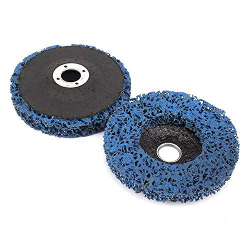 Lowest Prices! Xucus 2Pcs 125mmx22mm/115x22mm 5 Inch 46Grit Grinding Disc Wheel for Angle Grinder Pa...