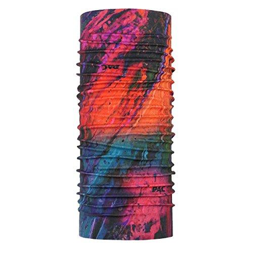 P.A.C. Original Creaze Multifunktionstuch - nahtloses Mikrofaser Schlauchtuch, Halstuch, Schal, Kopftuch, Unisex, 10 Anwendungsmöglichkeiten