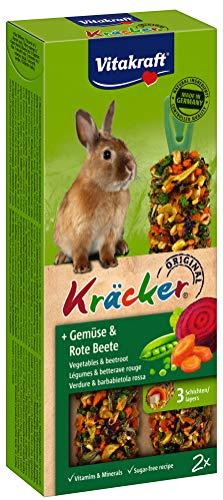 Vitakraft - 25015 - Kräcker aux Légumes - Lapins Nains P/2
