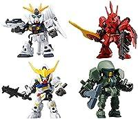 機動戦士ガンダム フレームオペレーション01 ロボット フィギュア アニメ ガチャ バンダイ(全4種フルコンプセット)