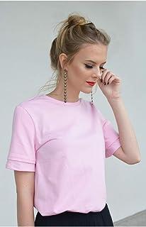Blusa de algodão rosa - Melissa