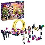 LEGO 41686 Friends Mundo de Magia: Acrobacias, Parque de Atracciones de Juguete para Niños y Niñas 6 Años con Mini Muñecas