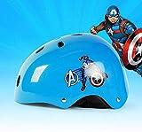 SNFHL Casco, Casco de Gato, Casco de Princesa, Casco de Capitán, Patines/Patinaje Equipo de Protección,Captain America-Normal