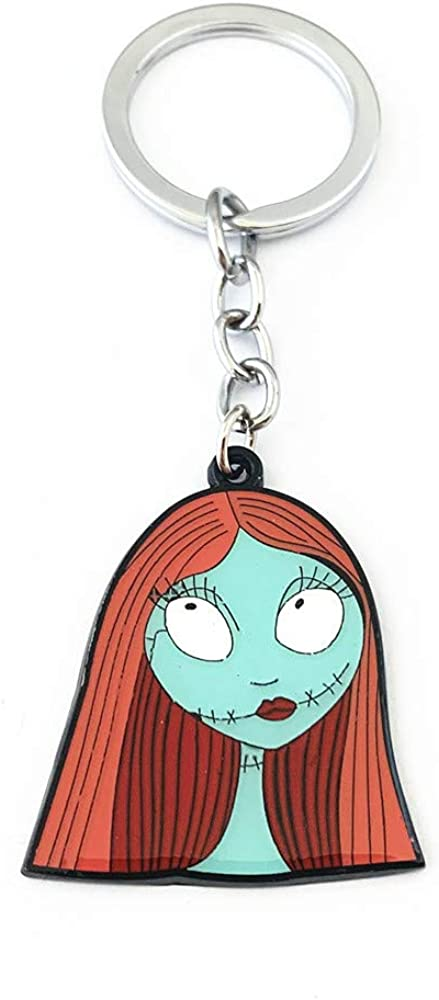 Some reservation lowest price Nightmare Before Christmas horror Keychain Sally Cosplay Ch Key
