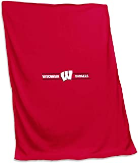 Logo NCAA 54 X 84 Fleece Sweatshirt Blanket - Multiple Teams