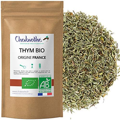 Chabiothé - Thym Bio (infusion ou épice) 200g - Origine FRANCE Provence - sachet biodégradable