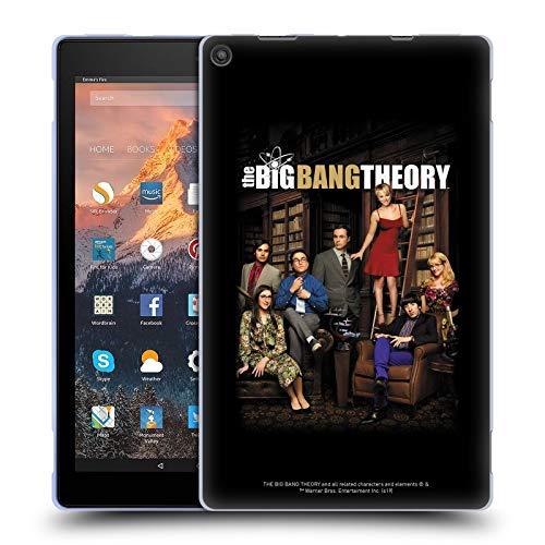 Head Case Designs Offizielle The Big Bang Theory Staffel 9 Schluessel Kunst Soft Gel Huelle kompatibel mit Amazon Fire HD 10 (2017)