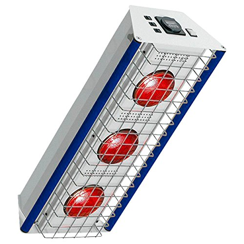 Heuser Rotlichtstrahler TGS Therm 3 Deckenmodell, Infrarotwärmestrahler