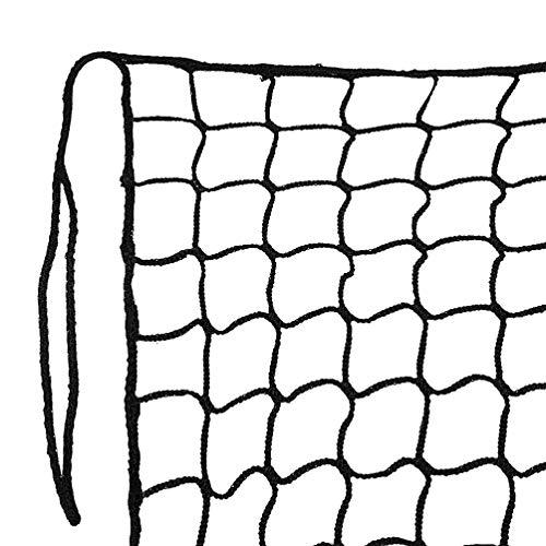 Aoneky Nylon Twisted Baseball Backstop Nets, 10x30ft / 10x40ft (10 x 30 ft, Black)