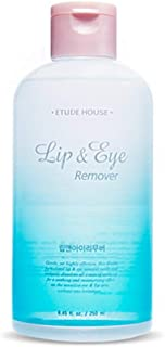ETUDE HOUSE Lip & Eye Remover 8.45 fl.oz. (250ml) | Kbeauty Gentle Makeup Deep Cleansing Remover | Dual-Phased Formula with Water and Oil | Face Cleanser | Sensitive Skin Skin Care