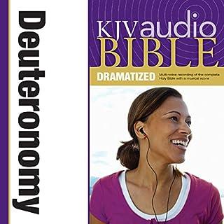 Dramatized Audio Bible - King James Version, KJV: (05) Deuteronomy audiobook cover art