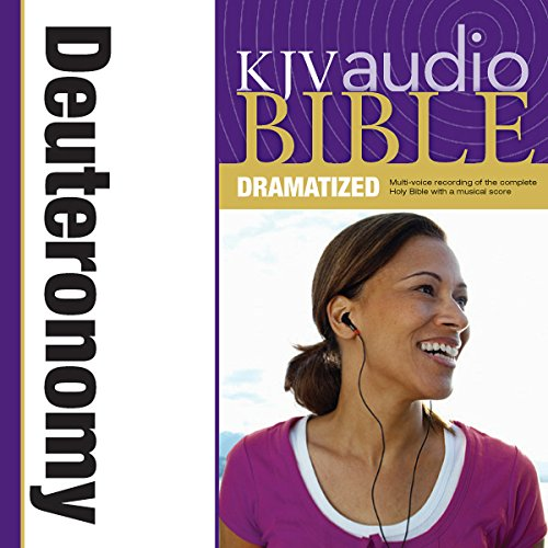 Dramatized Audio Bible - King James Version, KJV: (05) Deuteronomy audiobook cover art
