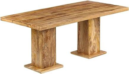 Amazon.es: mesas rusticas comedor - Café / Mesas: Hogar y cocina
