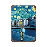 Klassisches Filmposter Midnight in Paris, 1 Retro-Poster,