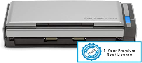 $262 » Fujitsu ScanSnap S1300i - Document Scanner - Dual CIS - Duplex - 8.5 in x 34.0 in - 600 dpi x 600 dpi - up to 12 ppm (Mono...