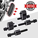 Street Glide Driver Floorboard Extensions, Floorboard Extension kit 1'' Compatible with 2009-2017 2018 2019 2020 2021 Touring Models Road King Electra Glide Road Glide Includes Bolts and Spacers