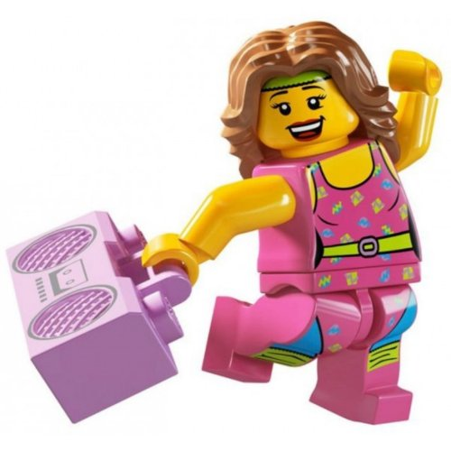 Lego Minifigures Series 5 - Fitness Instructor
