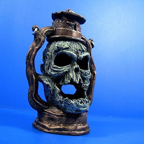 """Devil Oil Lamp Skull cave 6.7""""x4.9"""