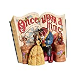 Disney Figura de la Bella y la Bestia Love Endures Storybook Traditions 20x16x11cm Resin