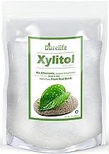 DureLife XYLITOL Sugar Substitute 5 LB Bulk (80 OZ) Made From 100% Pure Birch Xylitol NON GMO - Gluten Free - Kosher, Natu...