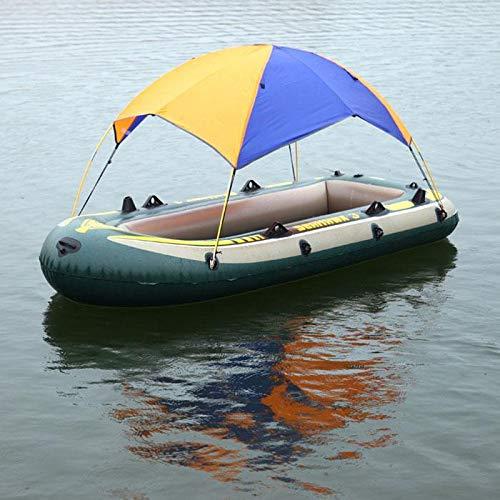 aufblasbares Bootzelt Schlauchboot Faltbare Markise Angeln Ruhen Picknick Berg aufblasbare Sonnensegel Sonnensegel Sonnenschutz Segelboot Top