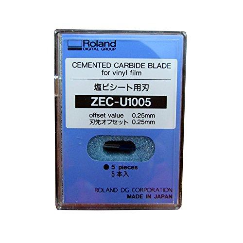 『ローランドディージー 替刃(5本入り) ZEC-U1005』のトップ画像