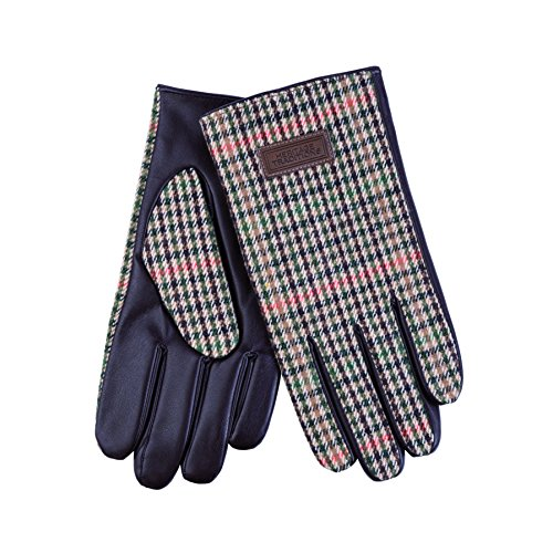 Heritage Traditions Mens Tweed Boxed Driving Gloves (Multi)