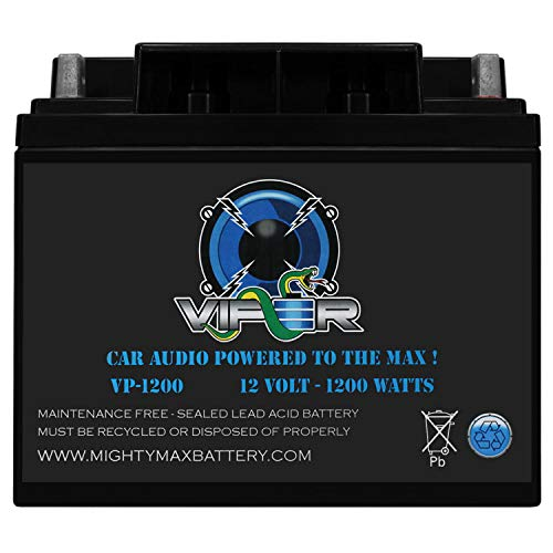 Mighty Max Battery Viper VP-1200 12V 1200 Watt Car Audio High Current Power Cell Battery Brand Product