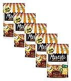 Hello Day Cereal Flakes Muesli con frutas secas y confitadas, nueces y semillas - 5 x 300 gramos