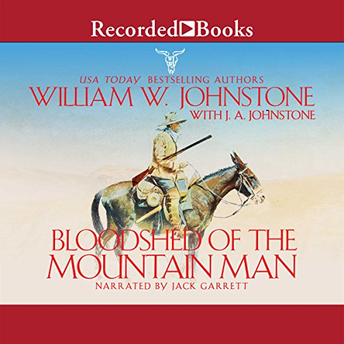 Bloodshed of the Mountain Man audiobook cover art